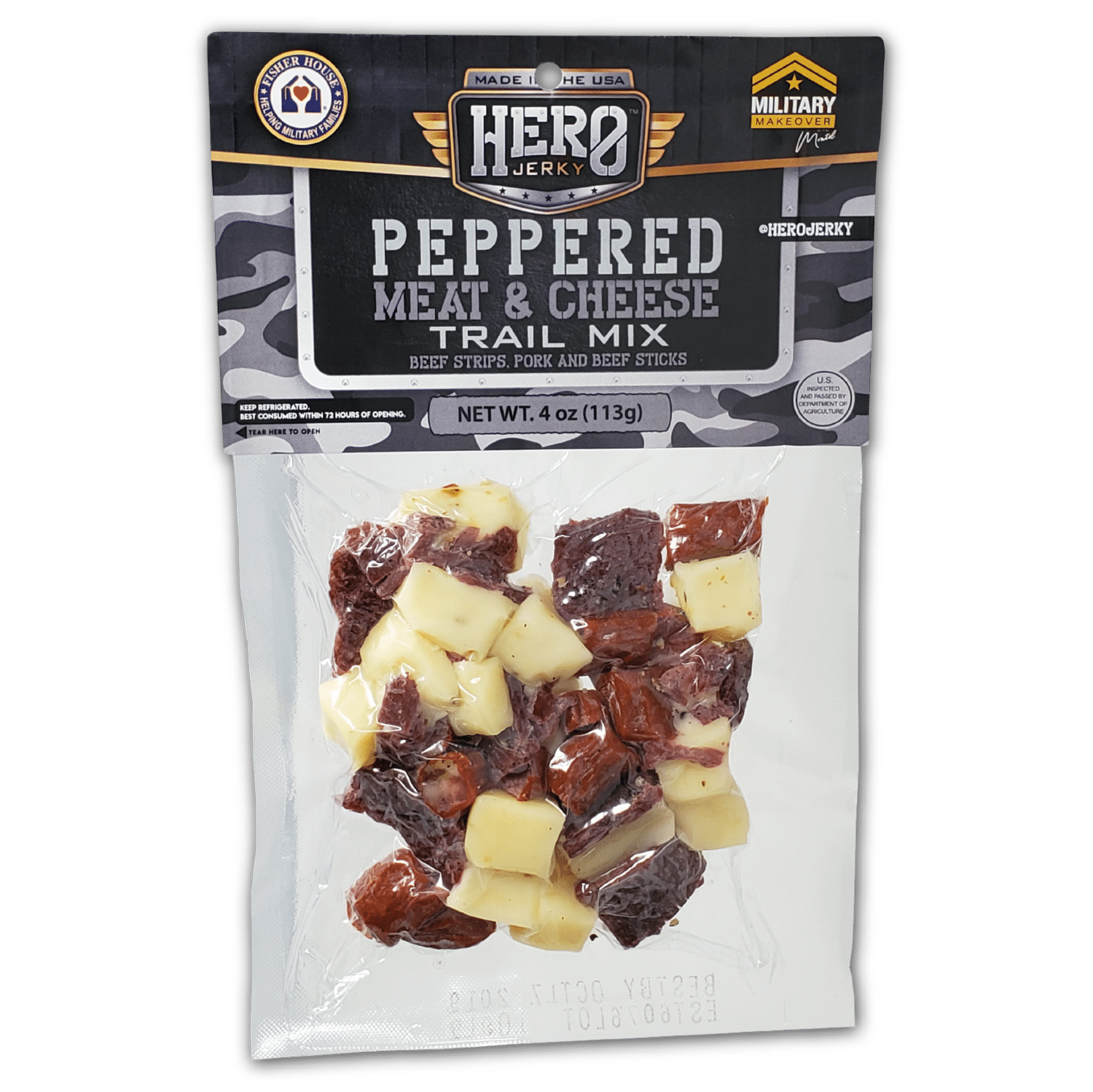 Hero Jerky Trail Mix