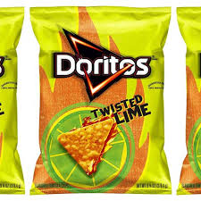 Twisted Lime Totilla Chips by Doritos