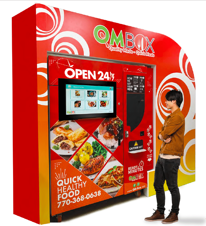 QMBox Hot Food Vending Machine