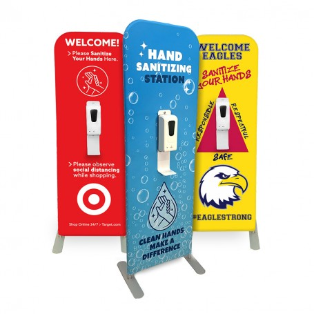 custom hand sanitizer stands