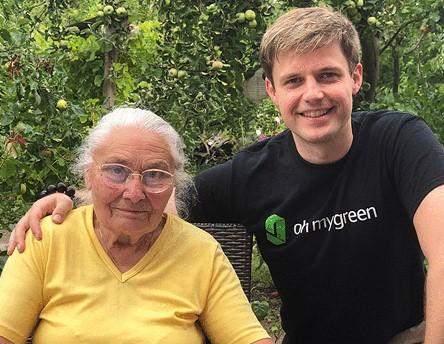 Michael and Grandmother