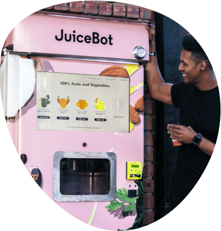 Juicebot vending machine