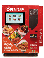 QMBox Hot Food Vending Machines