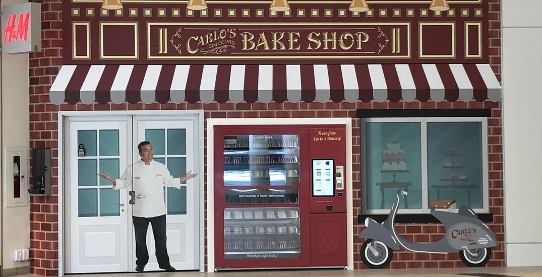 Cake Boss Vending Kiosk