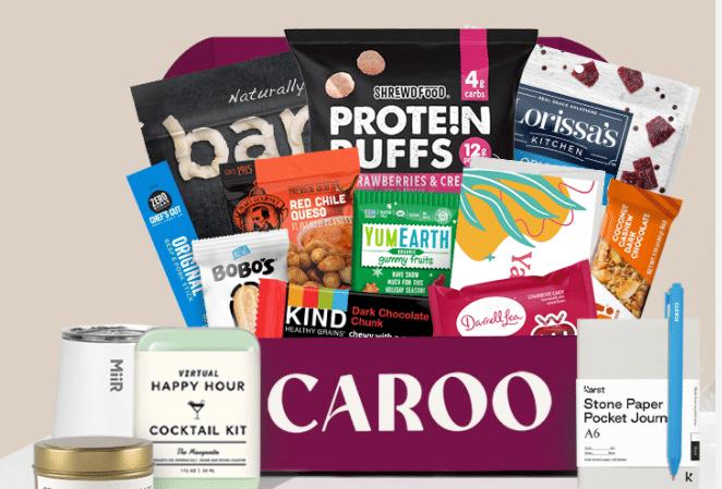 Caroo Workplace Snack Box