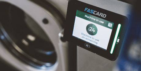 fascard for self service laundries