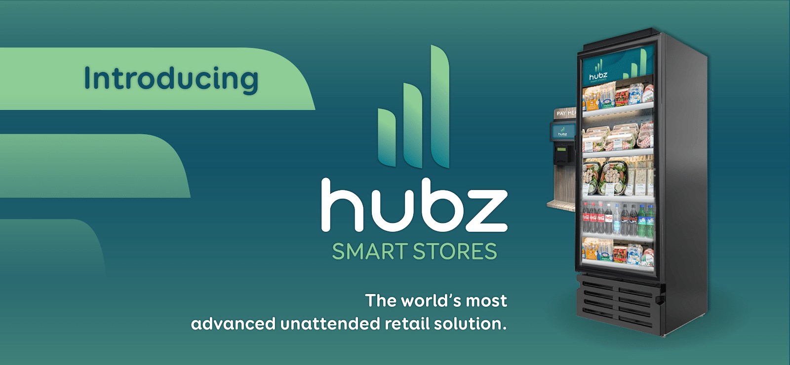 hubz automated retail coolers