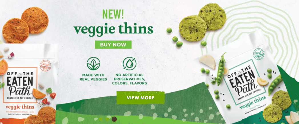 Off of The Eaten Path Veggie Thins