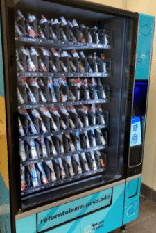 Corona Virus Testing Vending Machine