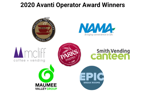 Avanti Markets Award Winners