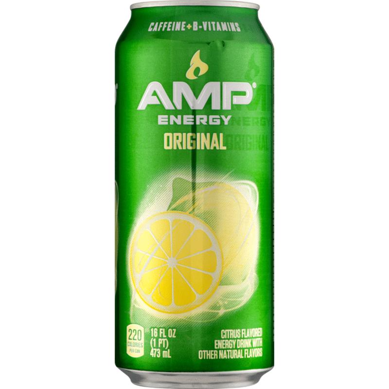 AMP Mountain Dew Energy Drink