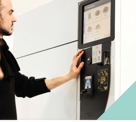 Mida Touch Screen Vending Machines