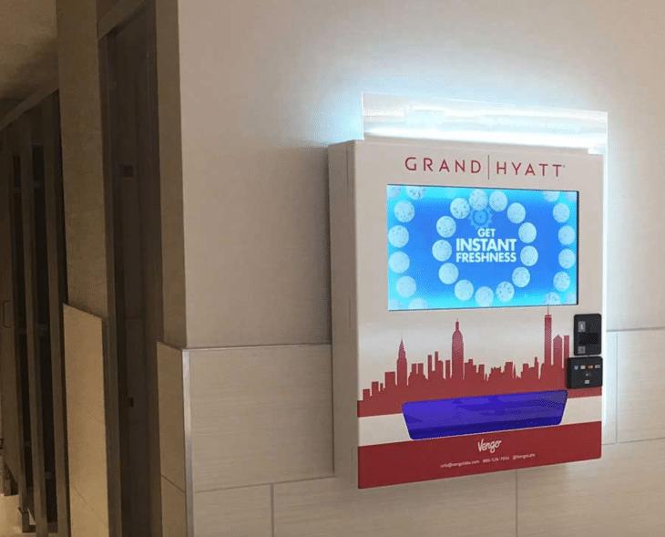 Vengo High Tech Wall Mount Vending Machine