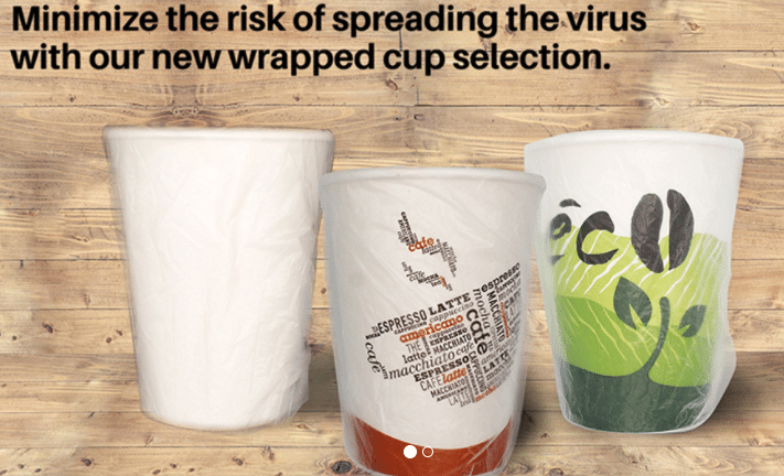 Wrapped Paper Cups