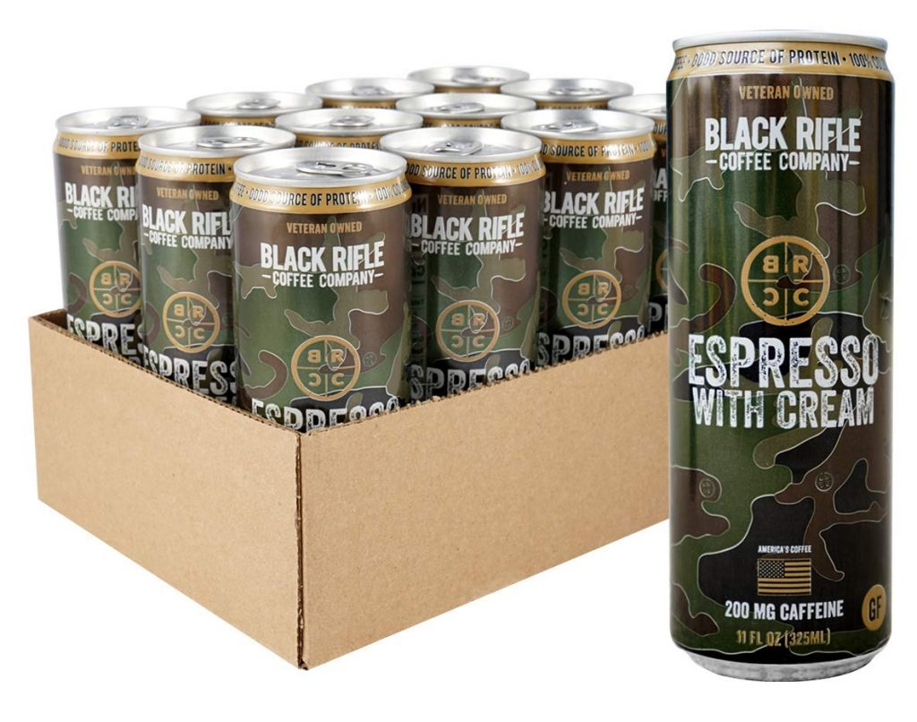 Black Rifle Coffee Canned