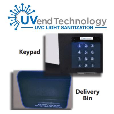 UVend-keypad-deliverybin