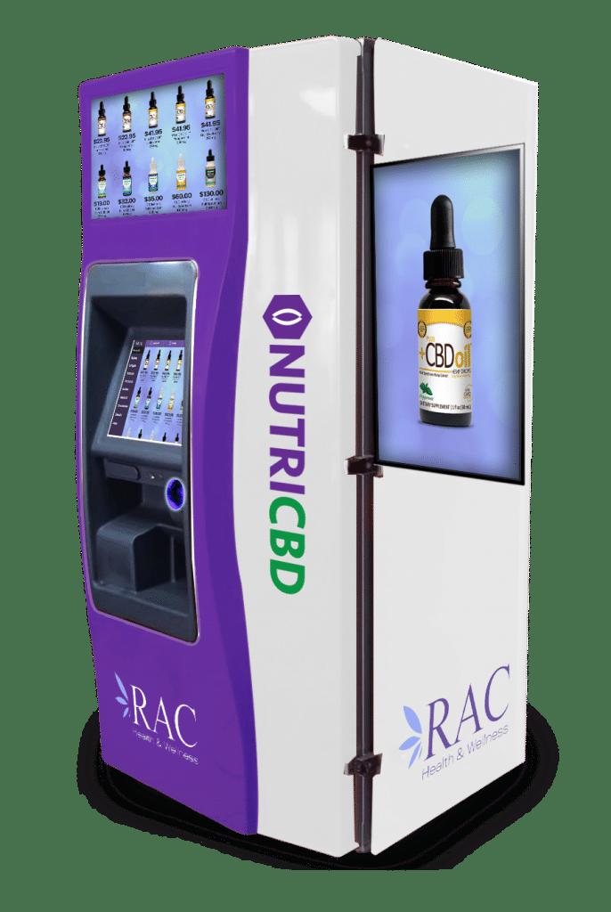 RAC CBD Vending Machines