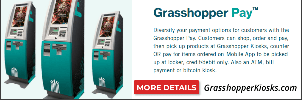 Grasshopper Pay Kiosks