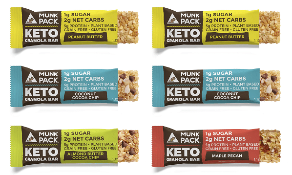 Munk Pack Keto Bars