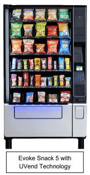 U-Select-It EVOKE with UVend Tech