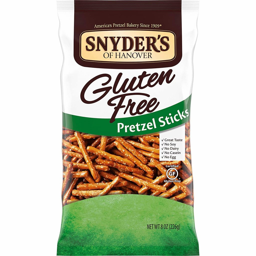 Snyders Gluten Free Pretzel Sticks