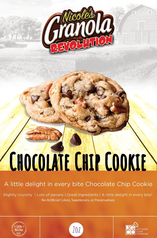 Nichoole's Chocolate Chip Cookies, Granola, Snacks