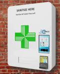 Sanitation Wall Mount Vending Machine