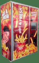 Hot Fries Vending Machine