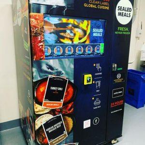 Gourmet Hot Meal Vending Machine