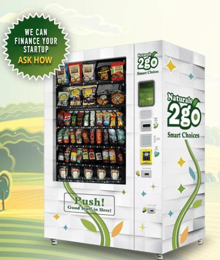 Naturals 2 Go Vending Machine