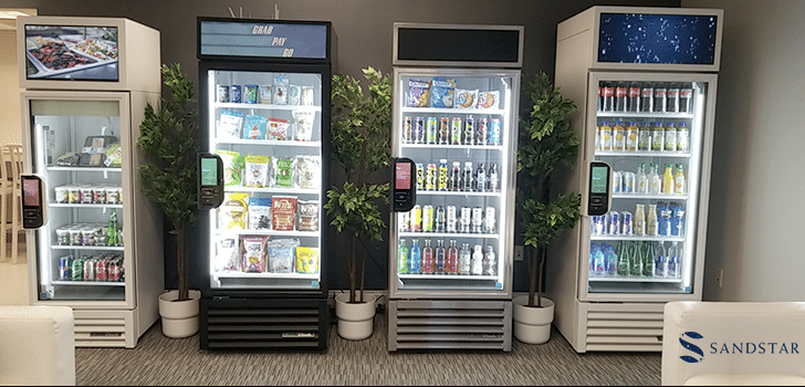 Sandstar Smart Vending Machines