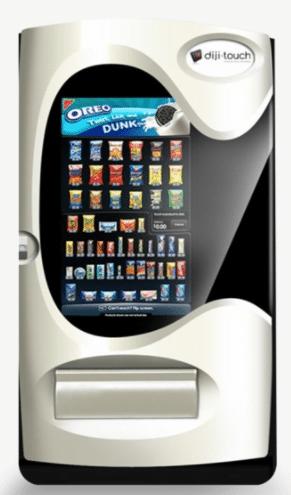 diji touch vending machine
